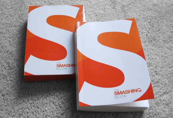 The Smashing Book with its shipping box