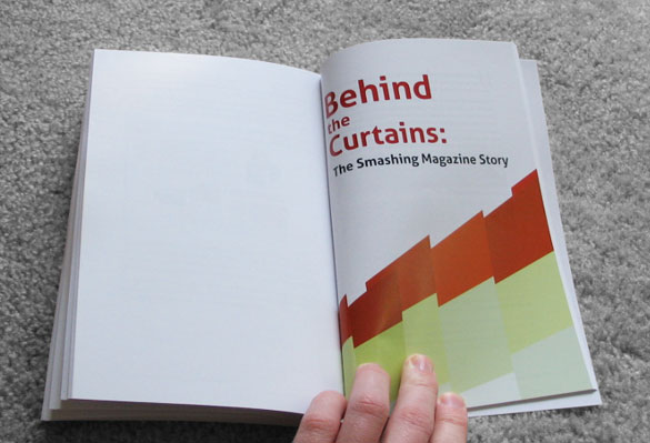 The Smashing Book: Behind the Curtains chapter